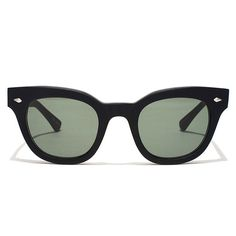 "The Epokhe Dylan Black Matte Sunglasses. ""I wanted to design a sleek shaped…"