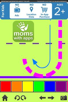 Pre-K ABC ($1.99) helps children scaffold the concept of letters and spelling by tracing dashed letters overlaid with the unique Pre-K ABC color-coded starting dots and directional arrows, spelling simple words through photo and color association, and viewing phonic aided photo-realistic flashcards, all with a narration that children can connect with.  •Dashed letters overlaid with the unique Pre-K ABC color-coded starting dots and directional arrows  •Letter Recognition  • child narration