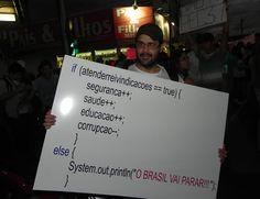 Nerds também protestam!