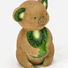 Koala bear made out of a kiwi!