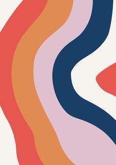 Nordic Modern Poster | Scandinavian Minimalist Art | Abstract Home Decor | Geometric Pastel Art - 24x36 20x30 18x27 14x20 11x17