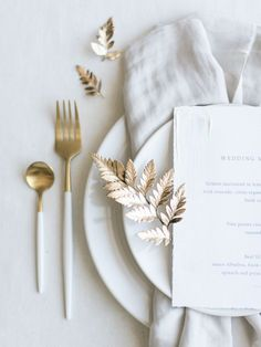 Natural and minimalistic style bridal editorial and wedding stationery featuring modern ocean themes and pops of gold. modern Natural, Minimalistic Bridal Editorial featuring Modern, Ocean Themes and Pops of Gold - Once Wed Wedding Menu, Elegant Wedding, Wedding Gold, Romantic Weddings, Fall Wedding, Wedding Reception, Wedding Cutlery, Modern Wedding Theme, Destination Wedding