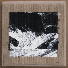 """Janet Austin: Chaotic Fragments: Part 2, 10x10"""" Chaos Tapestry Series"""