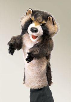 Raccoon Stage Puppet at theBIGzoo.com, a family-owned toy store.