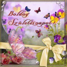 Happy Birthday Gif Images, Birthday Name, Name Day, Youtube, Good Thursday, Birthday, Saint Name Day, Youtubers, Youtube Movies