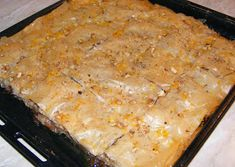 Baclava Lasagna, Macaroni And Cheese, Ethnic Recipes, Ideas, Food, Mac And Cheese, Essen, Meals, Thoughts