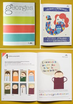 French children's magazine Georges  www.magazinegeorges.com