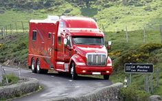 Want to know more about travel trailer transport companies. Click the link to get more information. Got to like this website. Peterbilt 387, Peterbilt Trucks, Chevrolet Trucks, Bus Camper, Rv Bus, Luxury Motorhomes, Rv Motorhomes, Motorhome Conversions, Camper Van Conversion Diy