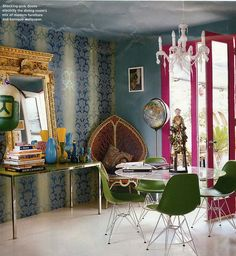 Matthew Williamson's Dining Room