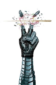 Bucky Barnes - The Winter Soldier by Mike Del Mundo