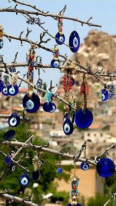 Best Vacation Spots, Best Vacations, Turkey Destinations, Evil Eye Art, Turkey Country, Turkish Decor, Turkey Photos, Evil Eye Jewelry, Turkey Travel