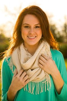 On A Whim Scarf - Ivory