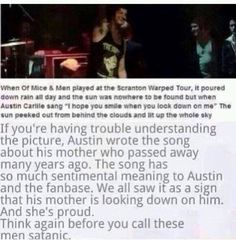 This is why I'm excited for them to come back to Scranton warped tour to see them