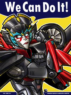 Windblade The Riveter by Laserbot.deviantart.com on @deviantART