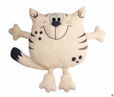 New Ideas Crochet Cat Pillow Toys Kids Pillows, Animal Pillows, Cat Toys, Doll Toys, Crochet Pillow Pattern, Cat Pillow, Fabric Toys, Cat Crafts, Cat Pattern