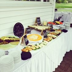 Stationed hors d'oeuvres. #fcc #cocktailhour #weddings