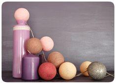 Second Life Project: Jesień będzie ciepła z Cotton Ball Lights.