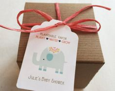 Baby Shower Favors Seeds ~ Baby shower favors owl plantable seed paper favors boxed