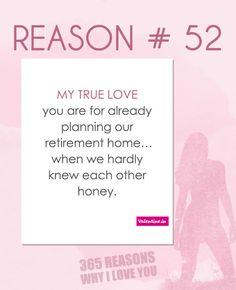 Reasons why I love you #52