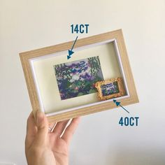 yen designs (@yendesigns) • Photos et vidéos Instagram Used Computers, Water Lilies, Vincent Van Gogh, Home Crafts, Cross Stitch Patterns, Lily, Pdf, Hand Painted, Frame