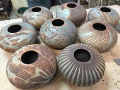 ...jim whalen...ceramist....paradox pottery....horse shoe..north carolina...
