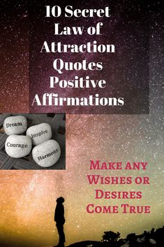 10 Secrets Law of Attraction Quotes Positive Affirmations to help you in daily life for strength, positivity, motivation, and happiness. of attraction Motivational Affirmations, Affirmation Quotes, Positive Affirmations, Quotes Positive, Secret Law Of Attraction, Law Of Attraction Quotes, Dream Motivation, Life Goals List, Goal Quotes