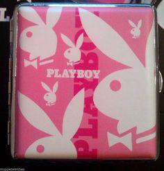 PLAYBOY  Design Cigarette Case Holder - 4 designs To Fit 18 - 20 Cigarettes
