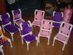 Build a little PVC lounge chair