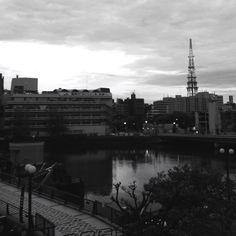 Hakata city , japan