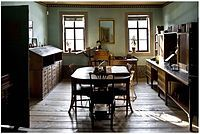 Werkkamer in Weimar Frankfurt, Johann Wolfgang Von Goethe, What A Wonderful World, Outdoor Furniture, Outdoor Decor, Wonders Of The World, Home Office, Home Goods, Table