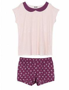 pigiami-donna-tezenis-inverno-2014-maniche-corte 3521b725652