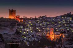 Alcala del Jucar in Spain by Guerola