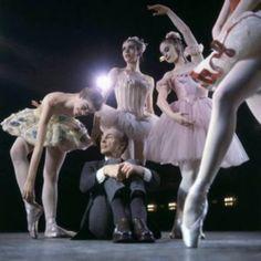 "Balanchine at ""Nutcracker"" rehearsal"