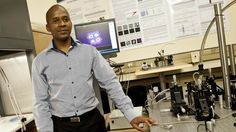 Sandile Ngcobo makes light work of lasers #technology #science