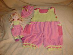 Toddler Girl Overalls