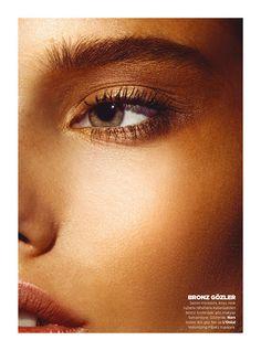 harpersbazaar2 Laura Upeniece Gets Up Close in Harpers Bazaar Turkey by Ergin Turunc