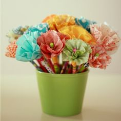 Fabric Pencils/Cute YW Idea i would love to figure out how these are done!