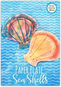 Paper Plate Seashell Craft For Preschoolers Make Super Cute Paper Plate Seashell Craft For Kids Step By Step Tutorial Tags Paper Plate Craft Toddler Crafts Kindergarten Craft Ocean Study Clams Ocean Crafts Beach Party Ocean Week Ocean Kids Crafts, Sea Crafts, Summer Crafts For Kids, Toddler Crafts, Seashell Crafts Kids, Sea Animal Crafts, Beach Themed Crafts, Fish Crafts, Seashell Art