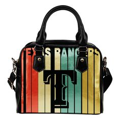 Texas Rangers Vintage Silhouette Shoulder Handbags – Best Funny Store