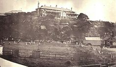 Quarantine Hospital in Manly in the Northern Beaches region of Sydney (year unknown). Manly Sydney, Avalon Beach, Sydney Beaches, Vintage Medical, Historical Pictures, Sydney Australia, Old Photos, Paris Skyline, Surfing
