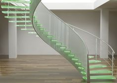 Modern style staircase has the potential of becoming an outstanding feature area in any home. #FRP #handrails #manufacturers will talk about modern designs for staircase that will add charm to your home.