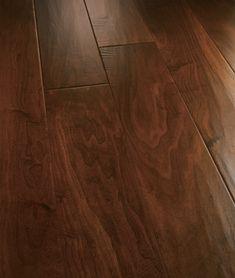 "Artisan Hand-Carved Engineered Hardwood Flooring - Emerald Coast San Pietro 8"" Walnut"