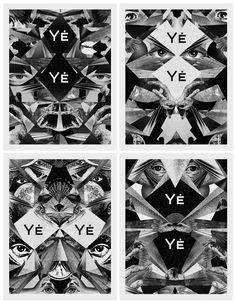 Club posters for YÉ YÉ