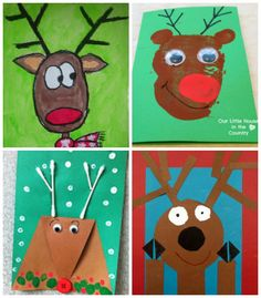 rubberboots and elf shoes: reindeer fun for children