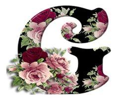 Buchstabe / Letter - G (Rosen / Roses)