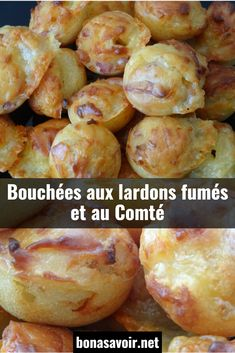 Smoked bacon and Comté bites - Trend Holidays Recipes 2019 Healthy Cake Recipes, Sponge Cake Recipes, Pound Cake Recipes, Baby Food Recipes, Nutella, Appetizer Recipes, Appetizers, Gluten Free Cheesecake, Christmas Party Food