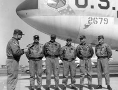 Today 10-1 in 1957 - U.S. B-52 bombers in the Strategic Air Command went on 24-hour alert status because of the perceived threat of an attack from the Soviet Union.
