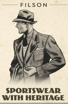 Filson Sportswear with Heritage