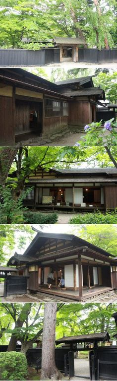 Kakunodane Samurai Residence has many Original Samurai Houses located in Akita. Asian Architecture, Architecture Details, Pavilion Architecture, Sustainable Architecture, Residential Architecture, Contemporary Architecture, Japanese Style House, Traditional Japanese House, Japanese Interior