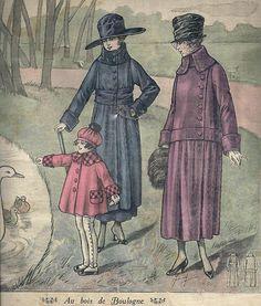 isabellurette:  Le Petit Écho de la Mode - 27 janvier 1918